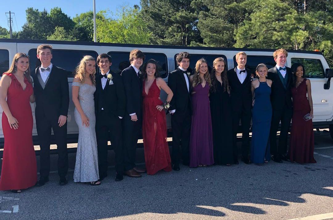 Hummer Limo Prom Raleigh