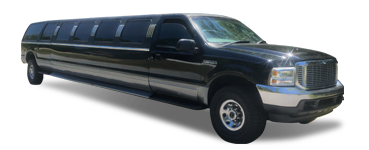 Stretch SUV Limo - Black Excursion | Raleigh NC